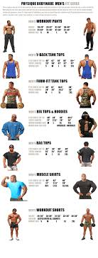 Physique_bodyware_mens_size_chart_fit_guide Physique