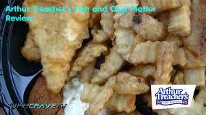 arthur treachers fish and chips arthur treachers fish and chip platter review youtube