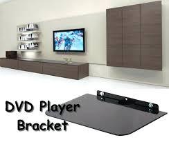 wall mounted dvd shelves luxury wall mount shelf 1 player bracket wooden wall mount dvd player shelf