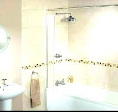 showers shower splash guard door leak guards tub bed bath and beyond gua shower splash guard