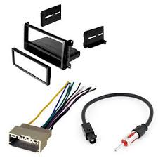 car stereo install kit dash antenna adapter wiring harness jeep image is loading car stereo install kit dash antenna adapter wiring
