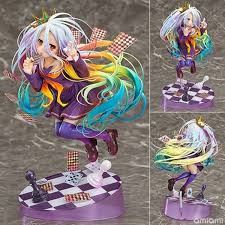 2019 <b>NEW 19cm Anime Life</b> No Game No Life Shiro Game Painted ...