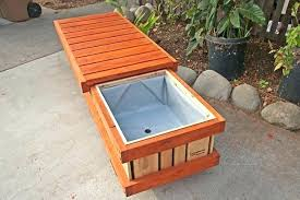 image gallery outdoor benches planters planter box bench with seat wooden plans planter box bench