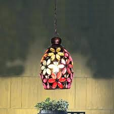 colored mini pendant lights multi