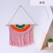 <b>16 Colors</b> Bohemian Style Children Room Rainbow Wall <b>Hanging</b> ...