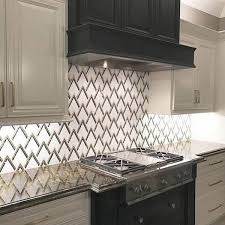 art deco backsplash