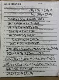 balancing chemical equations worksheet pdf inspirational 44 doc worksheet 6 2 word equations