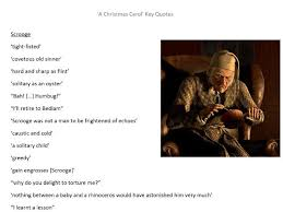 A Christmas Carol Quotes Unique A Christmas Carol' Character Quotes English GCSE Revision By