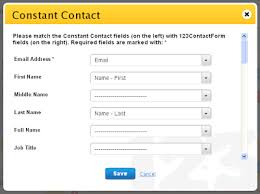 constant contact signup form web forms with constant contact integration