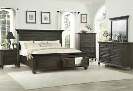 ESTATE 5PCS TRADITIONAL White Washed Bedroom Set Furniture w/ Queen ...