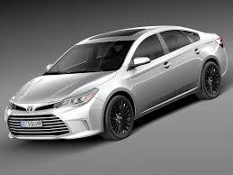 Toyota Avalon Touring Obj - 3D Model | 3D-Modeling | Pinterest ...