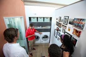 how to optimize your laundry room make a diy pedestal