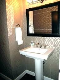 cool bathroom wallpaper bathroom