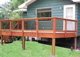 Decks Railings With Tempered Glass See Plenty Deck Railing Ideas - Exterior decking materials