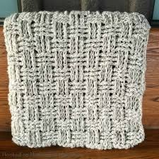 Crochet Basket Weave Pattern