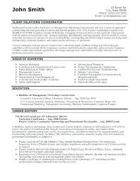 Resume Examples Objective. Sample Of The Best Resume Format Job ...