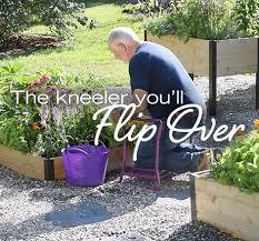 watch garden kneeler