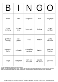 Math Bingo Cards to Download, Print and Customize!