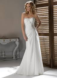 some obvious points for strapless wedding dresses