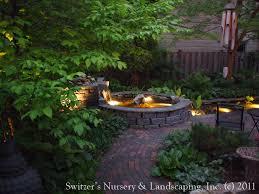 koi pond lighting ideas. brilliant pond minnesota landscape design inspired by bali  natural stone water  feature  koi pond with lighting ideas