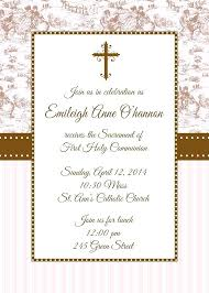 first communion invitation templates holy communion invitations girl invitation template peculiarsms com