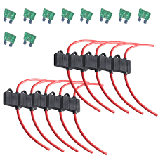 compare prices on fuse box wiring online shopping buy low price ee support 10pcs 12 gauge atc fuse holder box in line wire copper 12v 30a