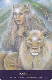 Goddesses Of The New Light Cybele Goddess Symbols Rhea Goddess Visionary Art