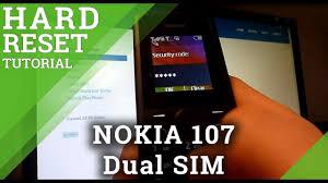 Hard Reset NOKIA 107 Dual SIM, how to ...