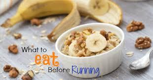 what should i eat before i run
