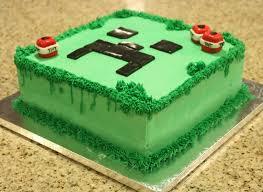 Creeper Cake Design