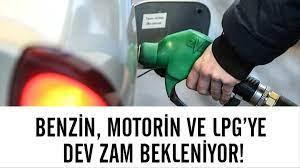 Benzin, motorin ve LPG'ye dev zam bekleniyor! İşte zam miktarı