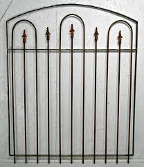 small garden wrought iron gate 4 ft
