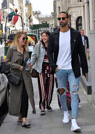 Designer Head To Toe Kate Wright And Rio Ferdinand Are The Ultimate Trendsetters