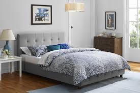 Full Upholstered Bed Frame Best Bed Frame And Box Spring Reviews Buying Guide Bed Frame