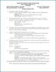 Early Childhood Education Resume Samples Early Childhood Education ...
