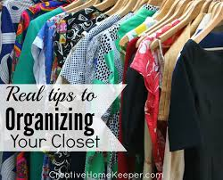 real tips to organizing your closet it doesn t have to be pretty to