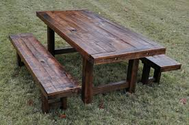 rustic outdoor table and chairs. Rustic Wooden Outdoor Table Designs And Chairs N