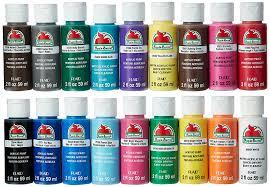 com apple barrel acrylic paint set 18 piece 2 ounce promoabi best ing colors i