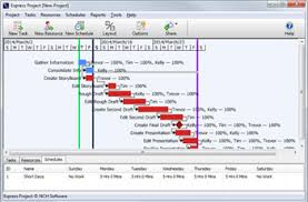 download free gantt chart software express project free project management tasking software