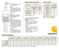 Polo Sweatpants Size Chart Cabelas Sizing Charts Carhartt Mens