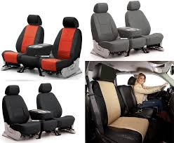 coverking synthetic leather custom seat covers toyota tundra 1 of 1free