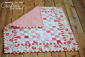 Vintage Baby Quilt Pattern mommy day crafter night vintage modern ... & Vintage Baby Quilt Pattern mommy day crafter night vintage modern ba quilt Adamdwight.com