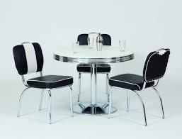 Tischgruppe Bistrotisch Kiki 2 Weiss Mit 4x Stuhl Peter Schwarz