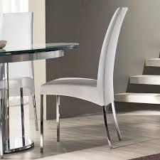 wonderful modern dining room chair home decor inside white modern dining chair por