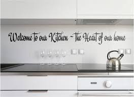 kitchen wall quotes words sayings