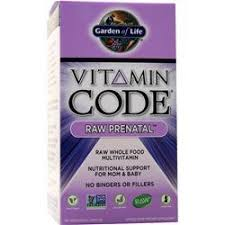 garden of life vitamin code raw prenatal. Plain Raw Garden Of Life Vitamin Code  Raw Prenatal 180 Vcaps On