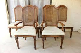 cane back dining room chairs stylish cane back dining room chairs on with regard to wicker