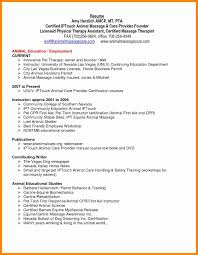 Massage Resume Examples Respiratory Therapist Resume Sample Inspirational Massage Resume 8