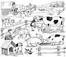Играть раскраска про животных