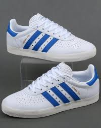 adidas trainers adidas 350 trainers white blue